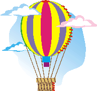 hot-air-balloon applique