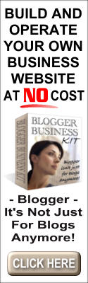 Build Your Own Blogger Business Website For Free