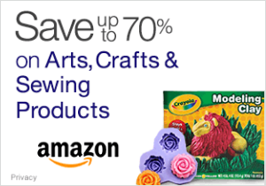 Save 70% on Arts, Crafts, and Sewing Products!