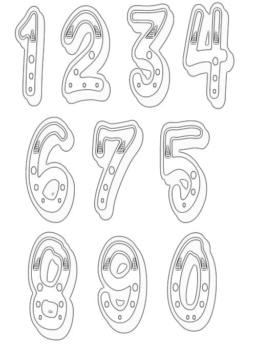 numbers clipart image 13