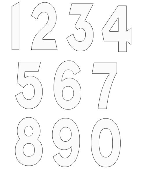 numbers clipart image 15