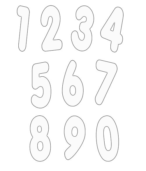 Good Numbers Templates Free In Numbers Templates Free