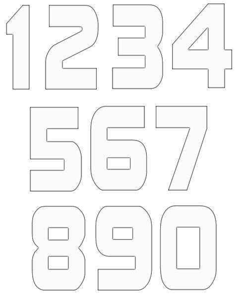 numbers clipart image 5