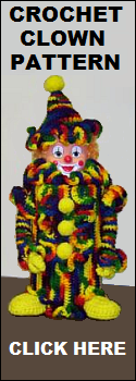 Crochet Clown Pattern