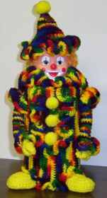 crochet clown