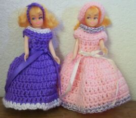 Treasured Heirlooms Crochet Vintage Pattern Shop, dolls, page 2