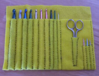 Crochet Hooks and Notions: Lion Brand Yarn