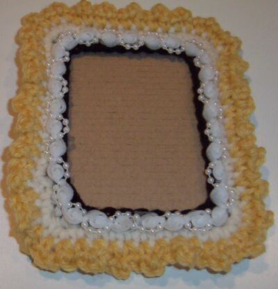 Spring Picture Frame Crochet Patterns
