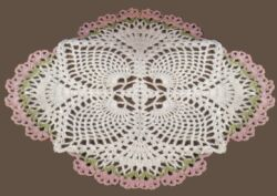 crochet pineapple doily