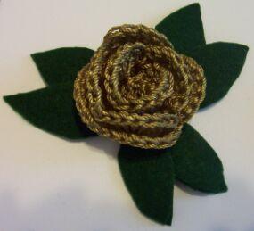 Rose Choker - Free Crochet Pattern:
