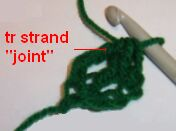 Free Crochet Pattern - Shamrock Pin from the St. patricks day Free