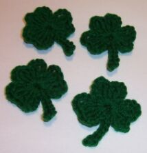 FREE PATTERN FOR CROCHET SHAMROCK - Crochet — Learn How to Crochet