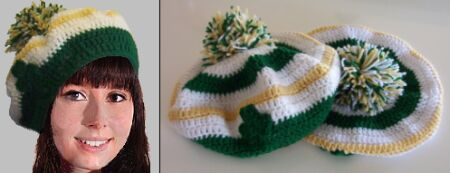 Crochet a Hat Tam or Beret - Moonmaiden on HubPages