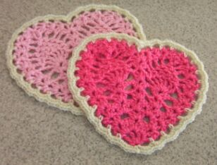 Crochet Collection: Crochet Flower Hot Pad Pattern