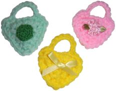crochet doll purses