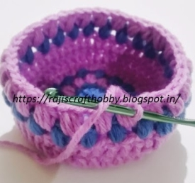 crochet Easter basket image 20