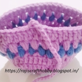 crochet Easter basket image 22