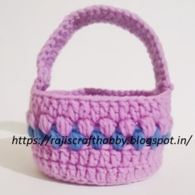 crochet Easter basket image 25
