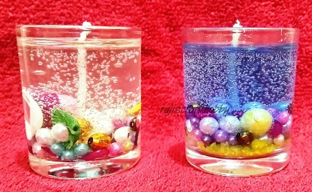 ocean gel candles image 1
