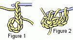 crochet granny motif figure 1-2