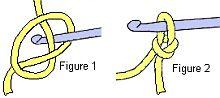 crochet stitch figure 1a-2