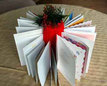 christmas card holder image 1