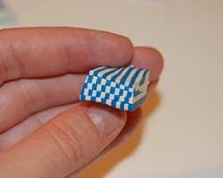 Fourth of July clay bracelet image 9