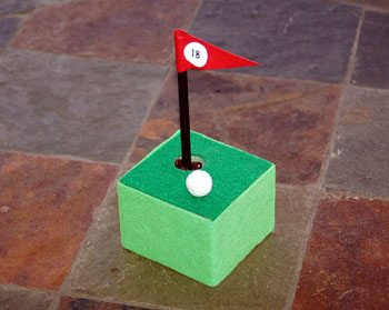 golf pen holder image 1