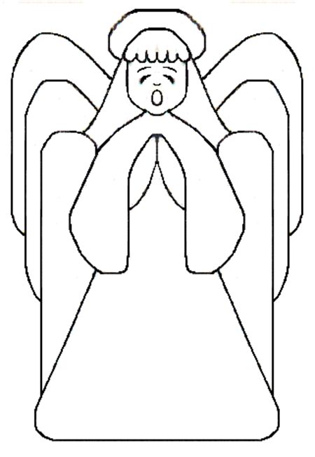 Free Angel Template 1