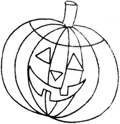 free halloween pumpkin template - Free Halloween Templates