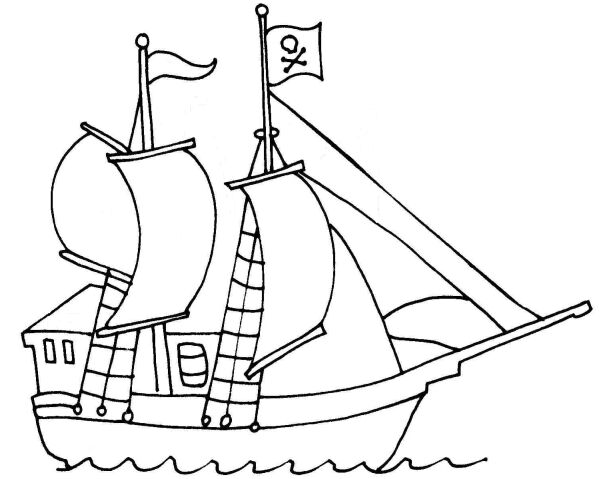 Image Result For Pirate Coloring Pages Pirate Ship
