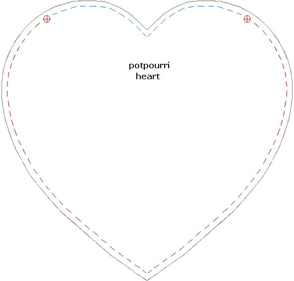 Printable Heart Template Pattern | Apps Directories
