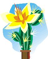 daffodil applique