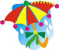 umbrella applique