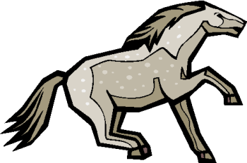 horse clipart 2