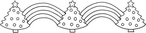 Christmas border a