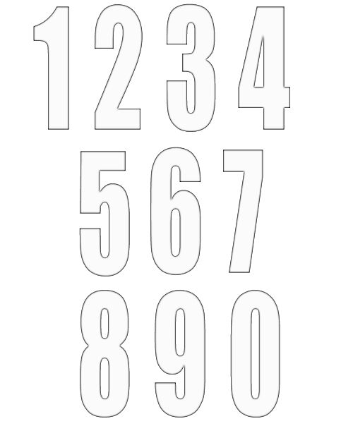 numbers clipart image 11