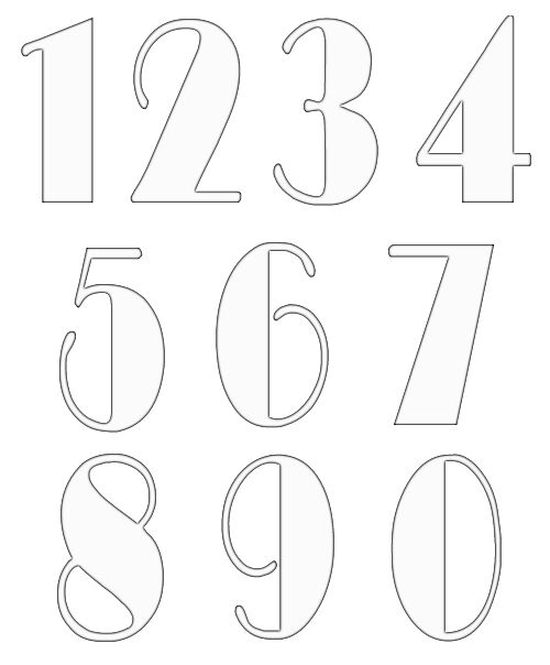 numbers clipart image 12