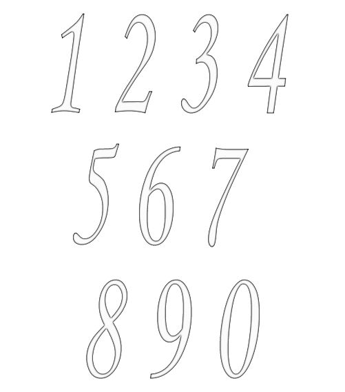 numbers clipart image 14