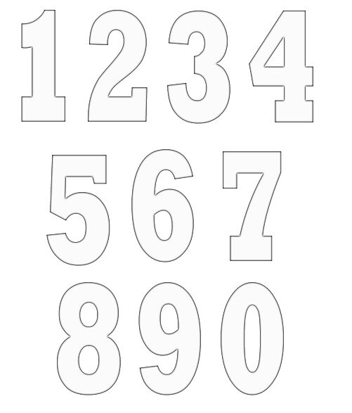 numbers clipart image 17