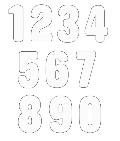 numbers clipart image 20