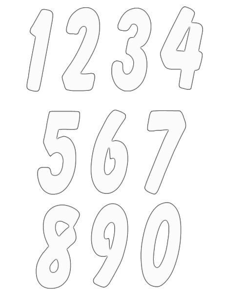 numbers clipart image 4