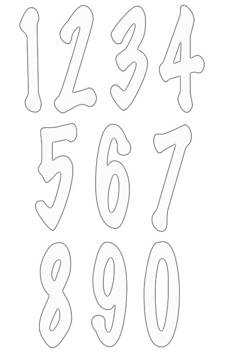 numbers clipart image 7