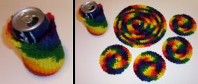 crochet can cozy