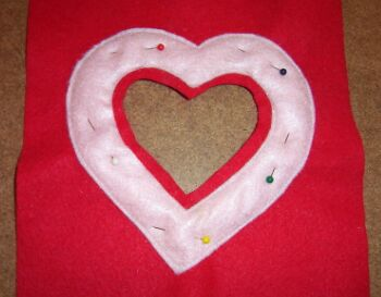 heart shaped picture frame image 2
