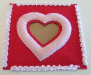 heart shaped picture frame image 5
