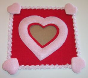 heart shaped picture frame image 6