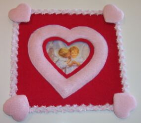 heart shaped picture frame image 7
