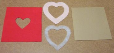 heart shaped picture frame pieces 1