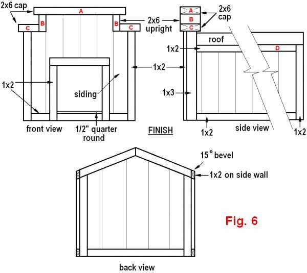 dog house plans 2 figure 6